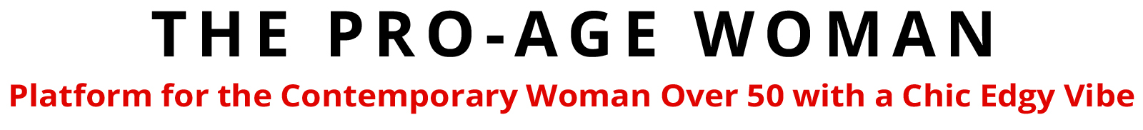 The Pro Age Woman