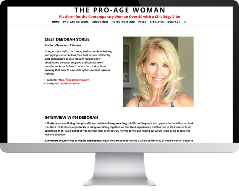 The Pro Age Woman Network