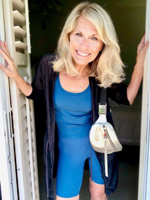 Deborah Sorlie wearing lululemon apparel